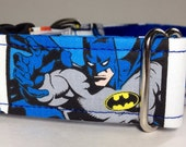 Batman 1.5 inch or 2 inch dog collar