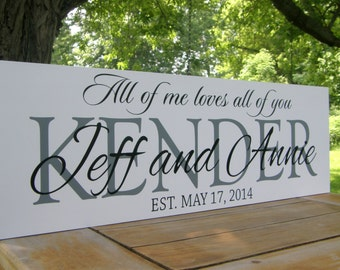Gifts fo  couple, Personalized Wedding Sign, Wedding Decoration Family name sign Custom Wooden last name sign gift Established family sign