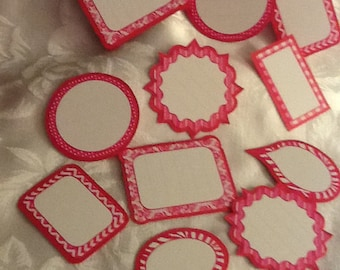 Fill in the blank Cupcake Toppers