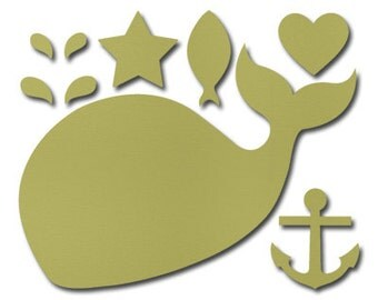 Stampin Up! Happy Whale Clearlits Die (NIP)
