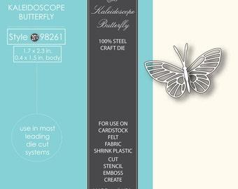 Memory Box Kaleidoscope Butterfly die
