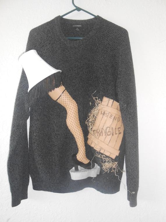 Ugly Sweater A Christmas Story Leg Lamp Really