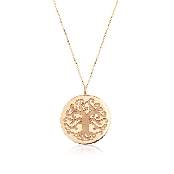 14k gold tree of life necklace free shipping meaning for What is the meaning of the tree of life jewelry