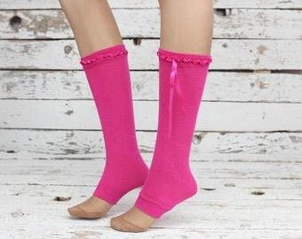 fuchsia Leg Warmers legwarmers, Leg Warmers  Leg warmers,,Legwarmers,women legwarmers,  boot warmers, sock