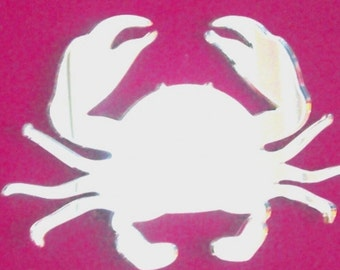 Crab Mirror - 5 Sizes Available. Also available in packs of 10 baby Crabs for Craftwork and Decorative Use