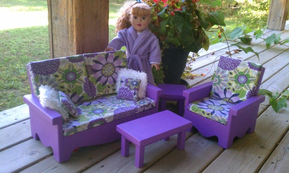 american girl living room items similar to living room set for american doll 12956