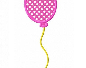 Balloon Applique Machine Embroidery Design NO:0167