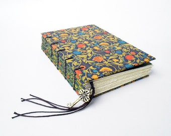 Arboretum Foil - Handmade Coptic Bound Journal, Notebook, Sketchbook