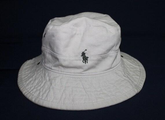Vintage polo ralph lauren bucket hat sportsman fishing for Polo fishing hat