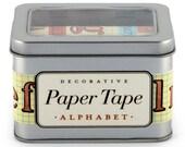 Alphabet Paper Tape, Cavallini