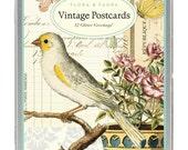 Vintage Post Cards, Flora & Fauna, Cavallini