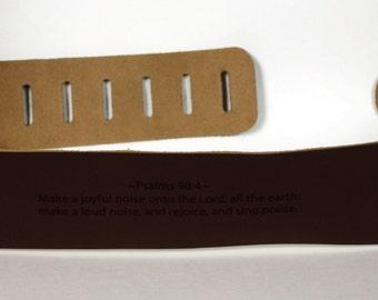 Custom Guitar straps. Personalized Guitar Straps, Guitar Straps, custom leather guitar straps, Brown colour