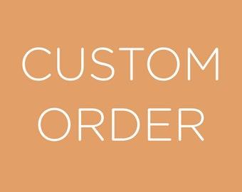 Custom designed bra