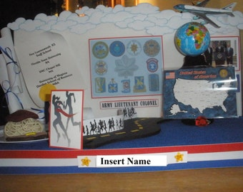 Personalized Retirement Party Prop/Centerpiece, Custom-Made to order, Decoration