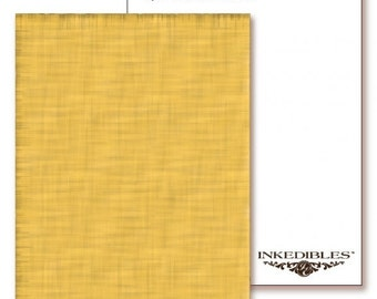 Inkedibles Premium Frosting DazzleSheets: 3 pack Letter Size (Gold Sparkle)