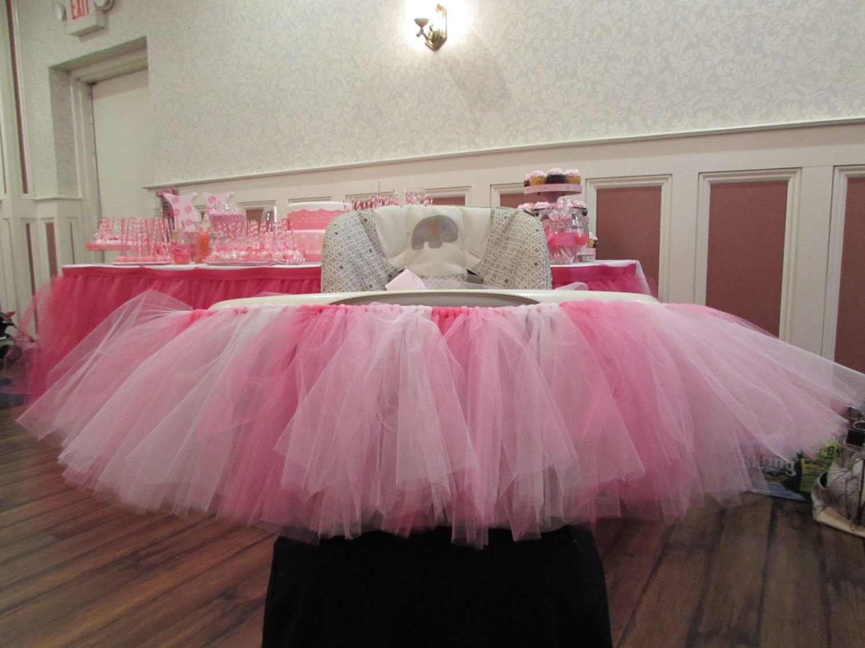 highchair skirt pink highchair tutu skirt children