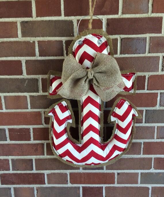 Items similar to anchor door hanger wall hanging nursery for Anchor door decoration