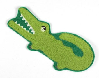 Patch Aligator crocodile Agu 12,5 x 5cm