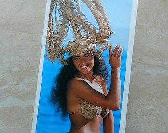 "Carte postale Tahiti "" Meilleurs voeux """