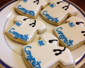 Nurse Scrub Cookies
