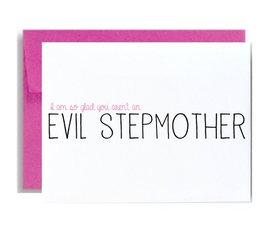 Happy Mothers Day Quotes From Step Daughter: Funny Step Mom Mothers Day Greeting Card Stepmother I Am So