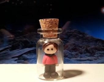 Star Trek Inspired Redshirt in a Bottle.