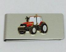 Case International Tractor Money Clip