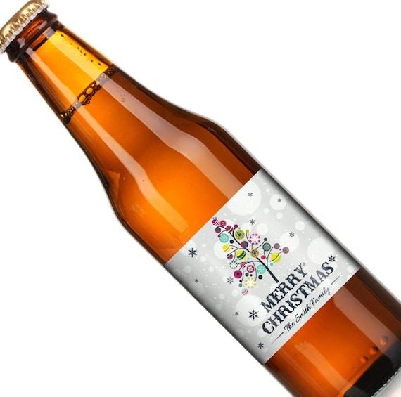Christmas Beer Label