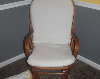 Gliding Rocking Chair Cushion Cover