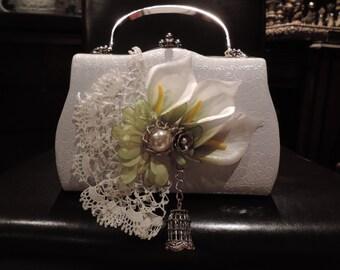 Upcycled Purse Darcie Boho Hobo Hippy Handbag