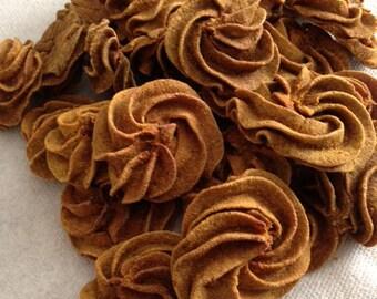 Pumpkin Pinwheels - Handmade gluten & grain free dog treat