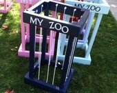 My Zoo: Tall Animal Storage Cage/ Order before NOV 1 for Christmas
