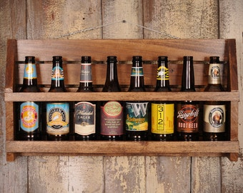 Craft Beer Collector's Shelf - Man Cave Beer Shelf