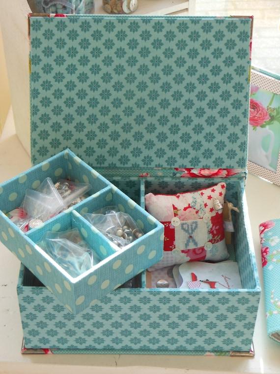Diy Sewing Box Plans