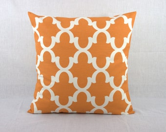Orange Sofa Pillow - Decorative Pillows for Couch - Pillow Covers 0003