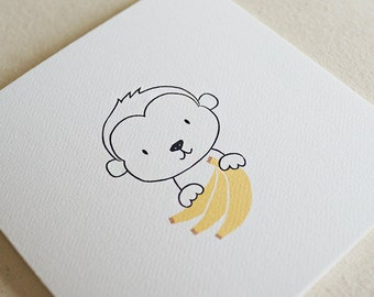 Monkey / Card