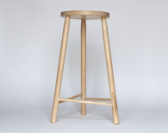 Three Legged Wooden Stool & Modern wood stool | Etsy islam-shia.org