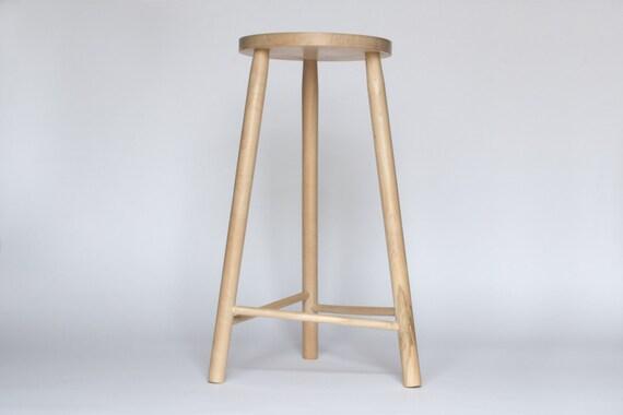 3 Legged Wooden Stool ~ Three legged wooden stool