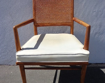 Mid Century Armchair Lounger Chair MCM Chair Teak Danish Sling Mid-century Chair Eames Tweed Walnut Wood Chair Lounge Vintage Retro seating