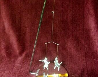Vintage 1979 Magnetic Dancing Toy