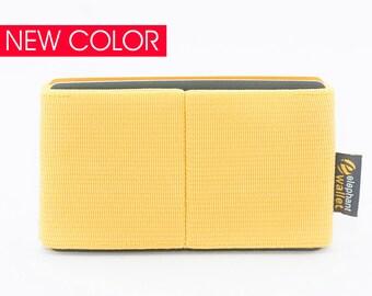 Handmade women's wallet, credit card wallet, elastic wallet, slim wallet, minimalist wallet, modern design wallet, E8 wallet