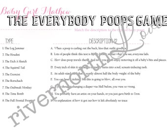 Everyone Poops Baby Shower Game