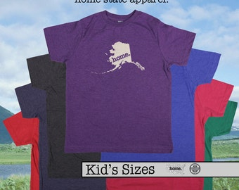 Alaska home tshirt KIDS sizes The Original home tshirt