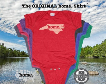 North Carolina home Baby Bodysuit