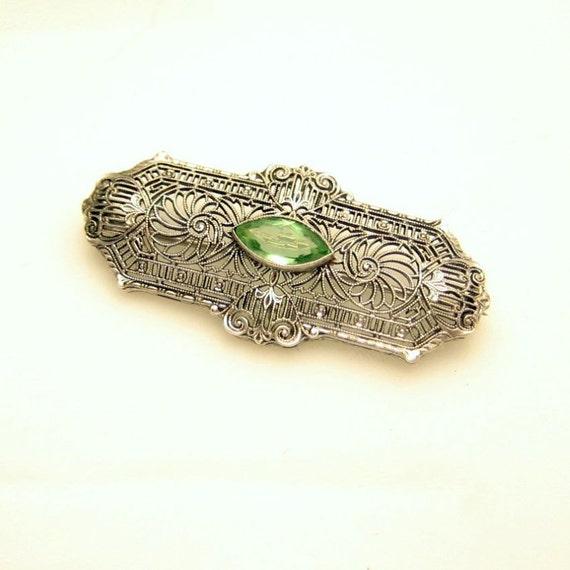 Vintage Sterling Silver Hair Pins