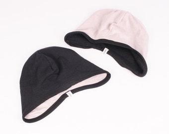 Aviator  Baby Hat - Black & Gray