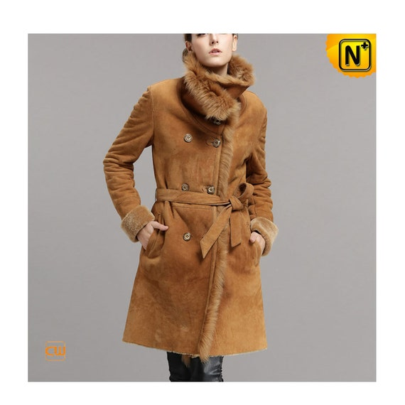 Shearling Long Coat CW640235