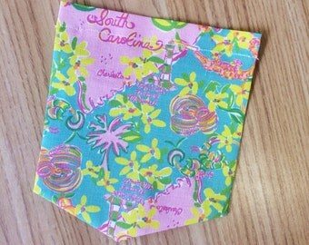 Lilly Pulitzer South Carolina Pocket Tee