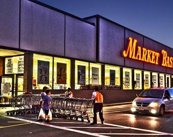 Market Basket, Somerville MA, Supermarket Photography, Market Basket Photography, Market Basket Print, Market Basket Art