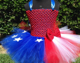 25% OFF The Patriotic Tutu Dress- 4th of july, summer, red white & blue, photo shoot, photo prop